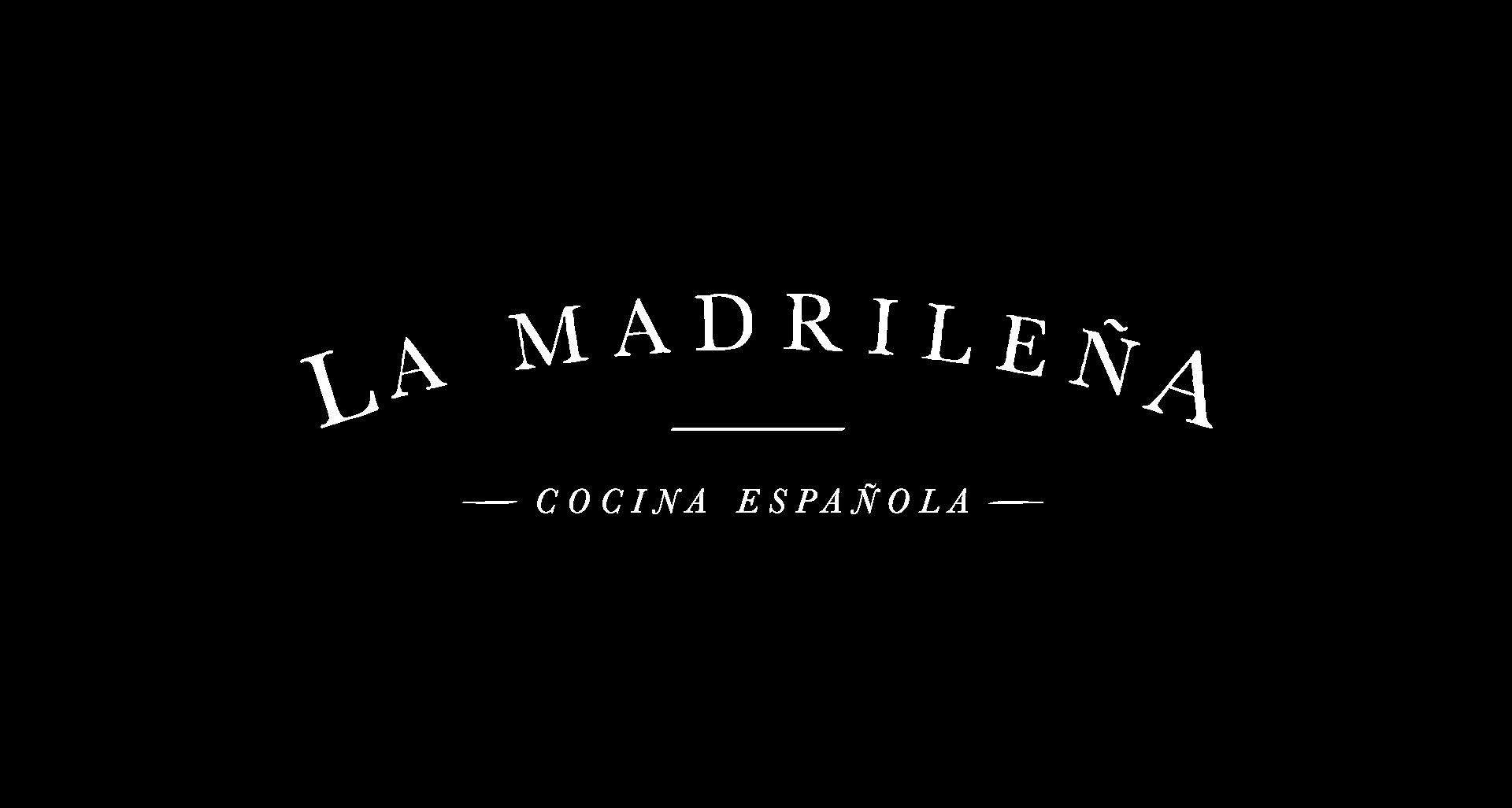 Logotipo de La Madrileña. Logotip de La Madrileña.