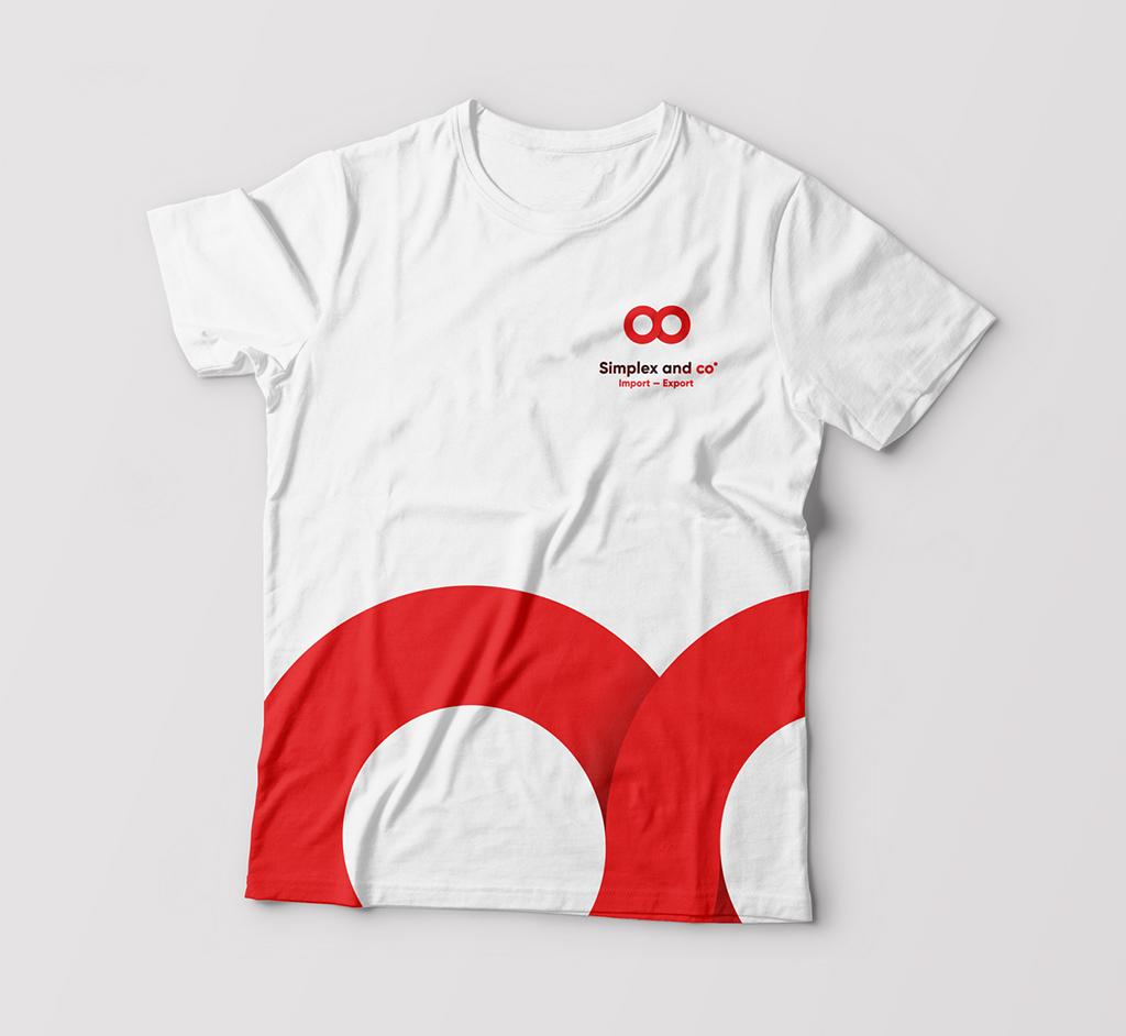 Diseño de la camiseta oficial para Simplex and Co. Disseny de la camiseta oficial per a Simplex and Co.