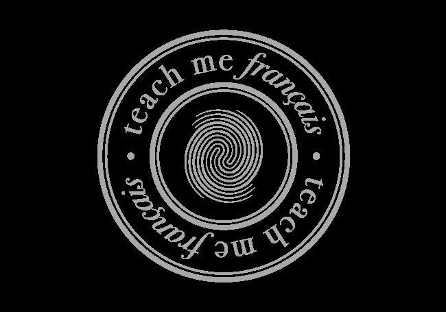Teach Me Français logo gris